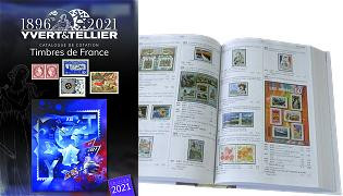 Tome I France 2021 - Catalogue de cotation Yvert et Tellier des timbres de France de 1849 à nos jours