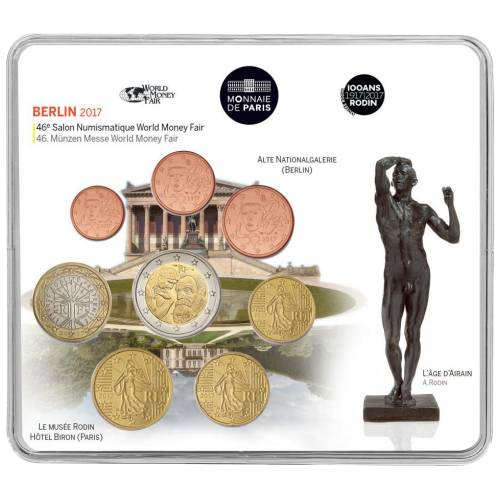 Coffret Série Monnaies Euro France Miniset Bu 2014 La Grande