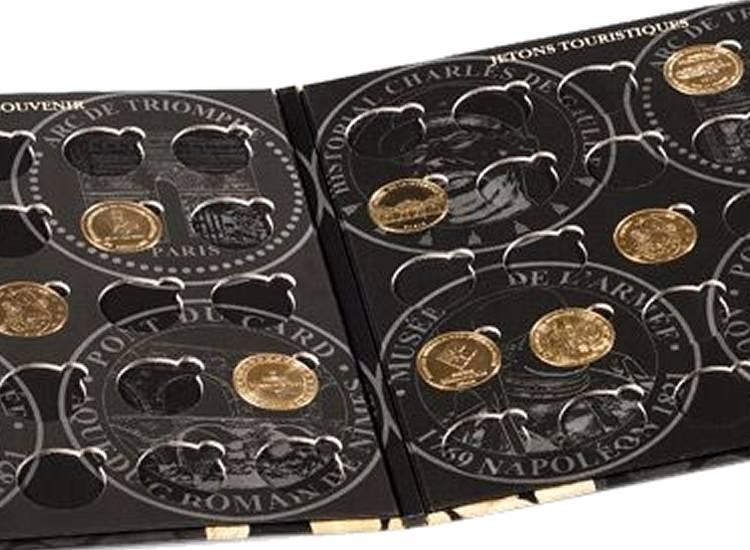 avec 4 plateaux Leuchtturm Coffret PRESSO pour 80 médailles souvenir