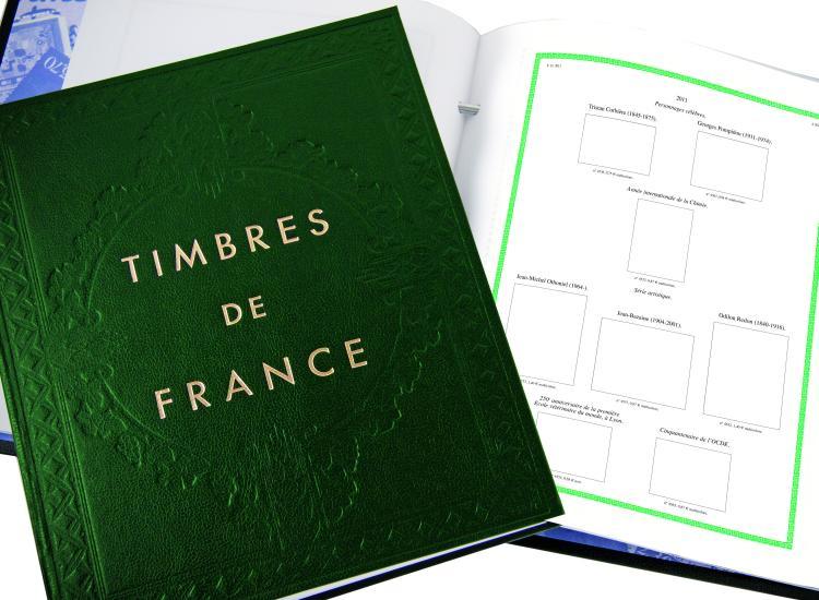 Album /à vis pour timbres la reliure marqu/ée I FUTURA FO