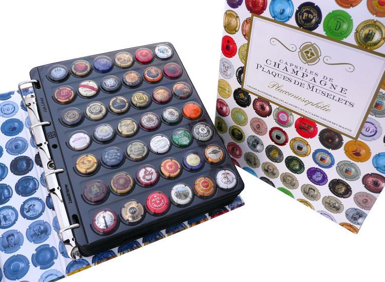 Albums Classeurs Plaques Muselets Capsules De Champagne Philatelie72