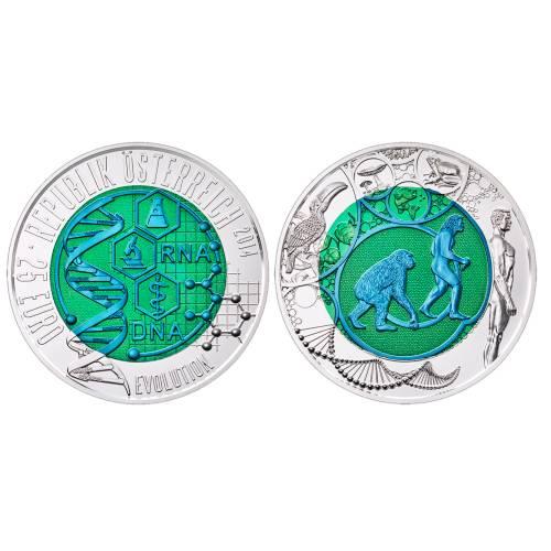 Pièce Commémorative 25 Euros Argent Niobium Autriche 2011 Brillant